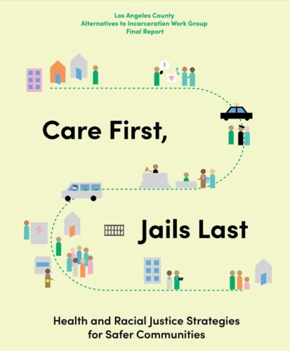 Image of Care First, Jails Last Report Cover