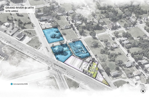 Grand River @ 14th lots acquired by DJDS