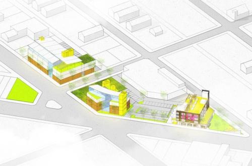 DJDS rendering of Love Campus